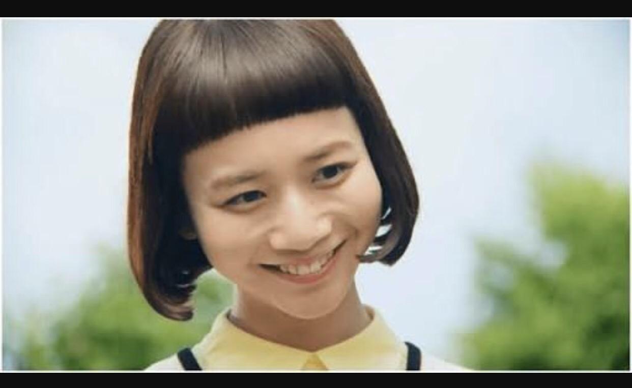 可愛い女の子ゆいちゃん 美容室mitsuru